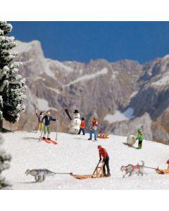 Busch H0 wintersportset 7769