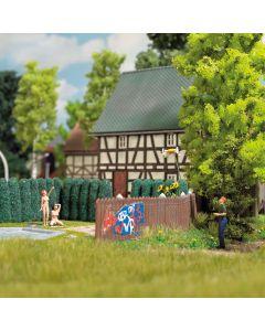 Busch H0 Mini scènes Miniatuur Drone met toebehoor scene 7812