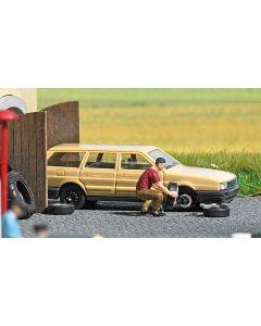 Busch H0 Mini scene Bandenwissel 7822