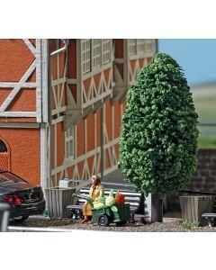Busch H0 mini scene Vrouw met handwagen 7841