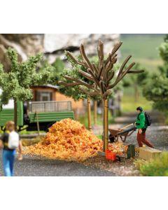 Busch H0 Mini scene bladblazer 7852