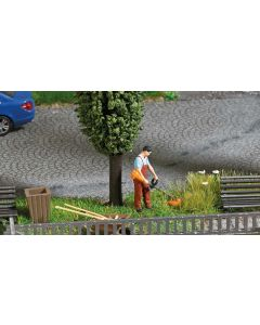 Busch H0 Mini scene grasmaaien 7853