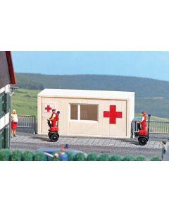 Busch H0 mobiele post van het rode kruis 7869