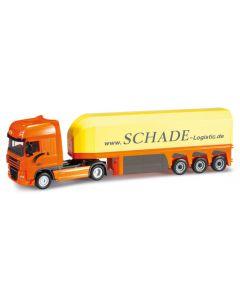 Herpa H0 Vrachtwagen Schade Logistics 302340