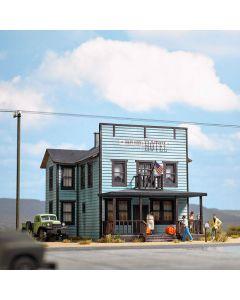 Busch H0 Amerikaans Hotel 9722
