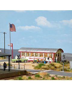 Busch H0 Amerikaans restaurant 9726