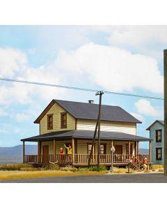 Busch H0 Amerikaans woonhuis 9727
