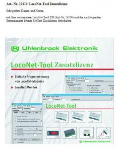 Uhlenbrock Digitaal loconet-tool licentie 19110