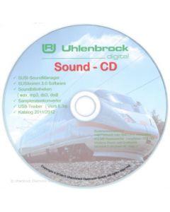Uhlenbrock Digitaal susi-soundmanager cd 31060