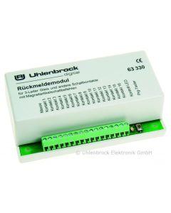 Uhlenbrock Digitaal loconet terugmeldmodule 3-r 63330