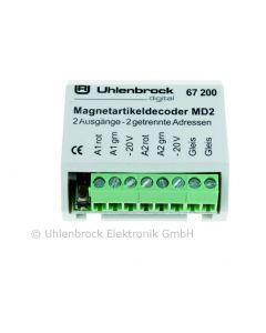 Uhlenbrock Digitaal md2 magneetartikeldecoder 67200