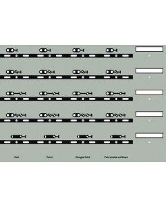 Uhlenbrock Digitaal track-control sein symbolen 69093