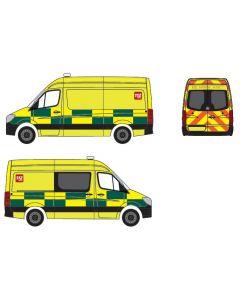 "Herpa H0 Mercedes Benz Sprinter Belgische Ambulance ""Croix-Rouge"" 936965"