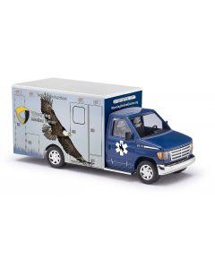 Busch H0 Ford E-350 Medical nr 6 BA41846