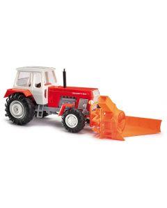 Busch H0 Traktor ZT 303 met sneeuwfrees 42846