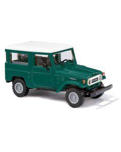Busch H0 Toyota Land Cruiser J4 groen 43031