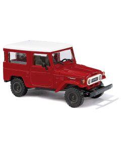 Busch H0 Toyota Land Cruiser J4 rood 43032