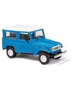 Busch H0 Toyota Land Cruiser J4 blauw 43033