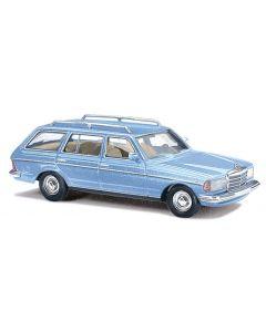 Busch MB W123Metallic blauw 46841