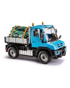 Busch H0 MB Unimog U 430 Kerstboomvervoer 50927