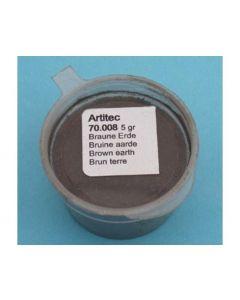 Artitec  Bruine aarde (verweringspoeder) 70.008