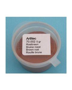 Artitec  Bruine roest (verweringspoeder) 70.002