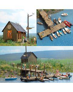 Busch boten verhuur set 1065