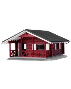 Busch vakantiewoning rood 1083