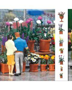 Busch bloempotten set 1209