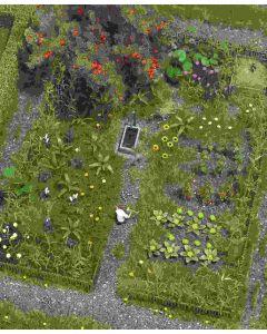 Busch verwilderde tuin 1223