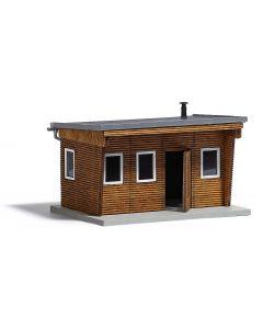 Busch bungalow hout h0 (7/15) * 1394