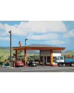 Busch tankstation minol h0 1419