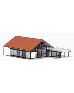 Busch woonhuis hout mod. 1446