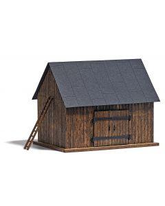 Busch veldschuur hout h0 (5/15) * 1500