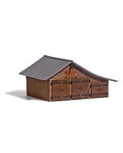 Busch houten schuur h0 1508