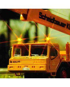 Busch knipperlichtset geel kpl. h0 5918