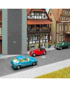 Busch asfaltweg + trottoir 1 m. ho 6038