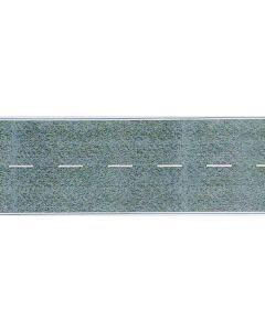 Busch betonweg + strepen 1 m. h0 6039