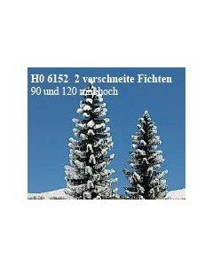Busch sneeuw sparren 2st. 6152