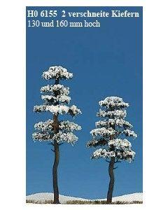 Busch sneeuw dennen 2st. 6155