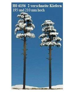 Busch sneeuw dennen 2st. 6156