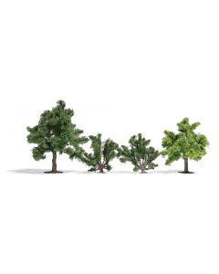 BUsch 2 fruitbomen en 2 struiken 6851