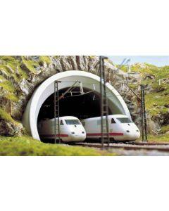 Busch tunnelportaal ice 2-sporig h0 7021