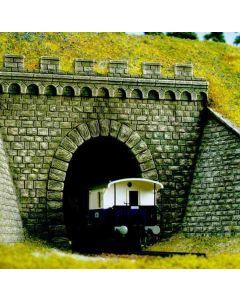 Busch tunnelportaal enkel h0 7022