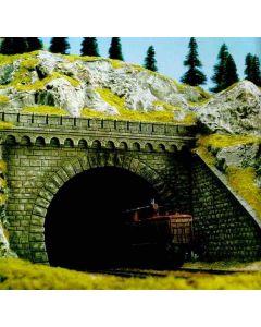 Busch tunnelportaal 2-sporig h0 7023
