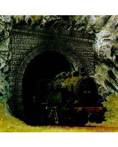 Busch tunnelportaal 2 st. stoomloc. h0 7025