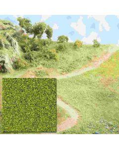 Busch strooimat. geel/groen 7052