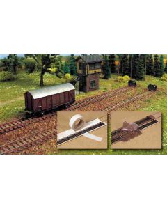 Busch railbedding+grind h0 7090