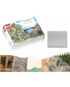 Busch landschapsmortel grijs 500 gr. 7192