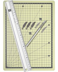 Busch modelbouw knutselplaten 2 st. 7201